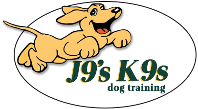 J9's K9s Dog Training Logo